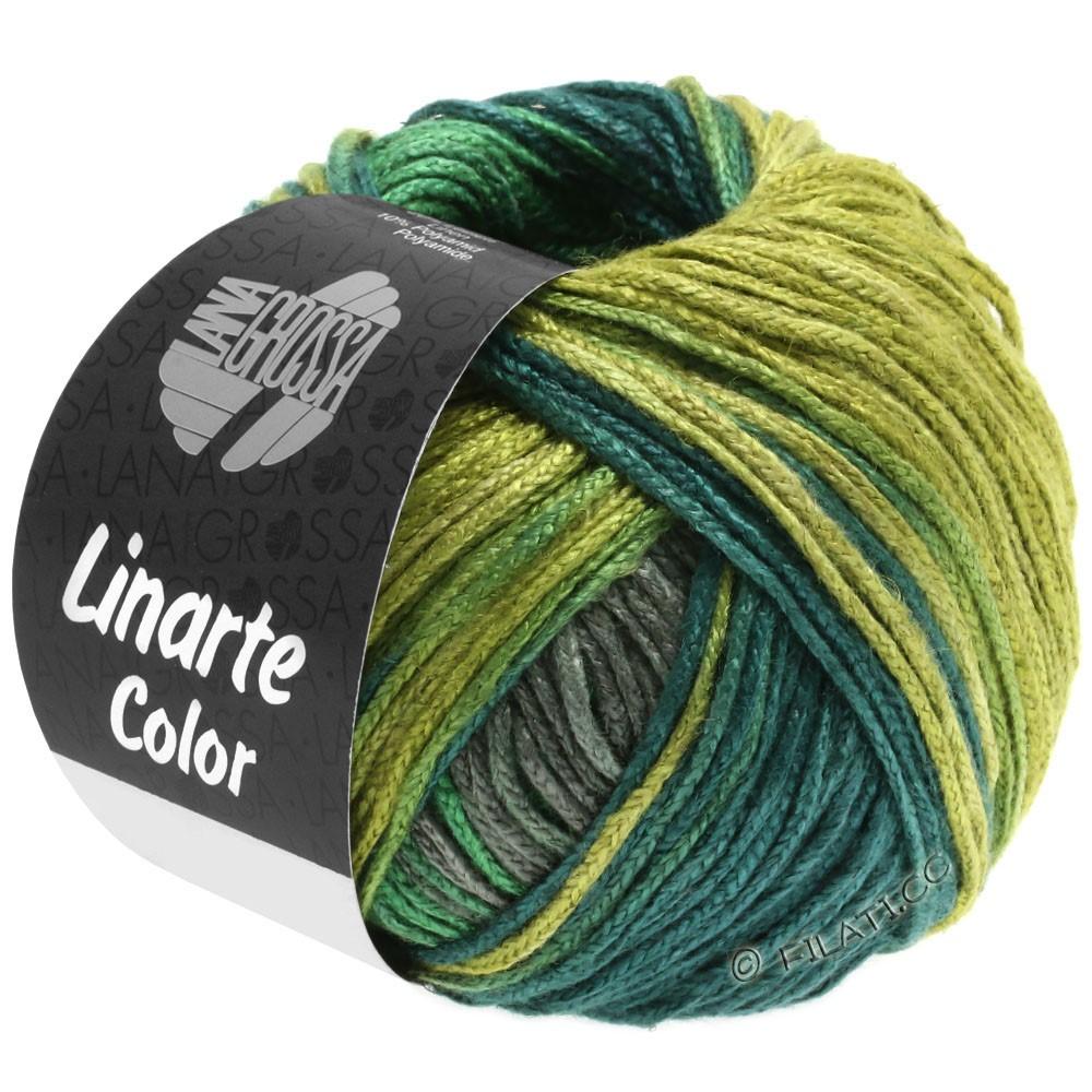 Lana Grossa LINARTE Color | 205-Oliv/Grün/Petrol/Graphit
