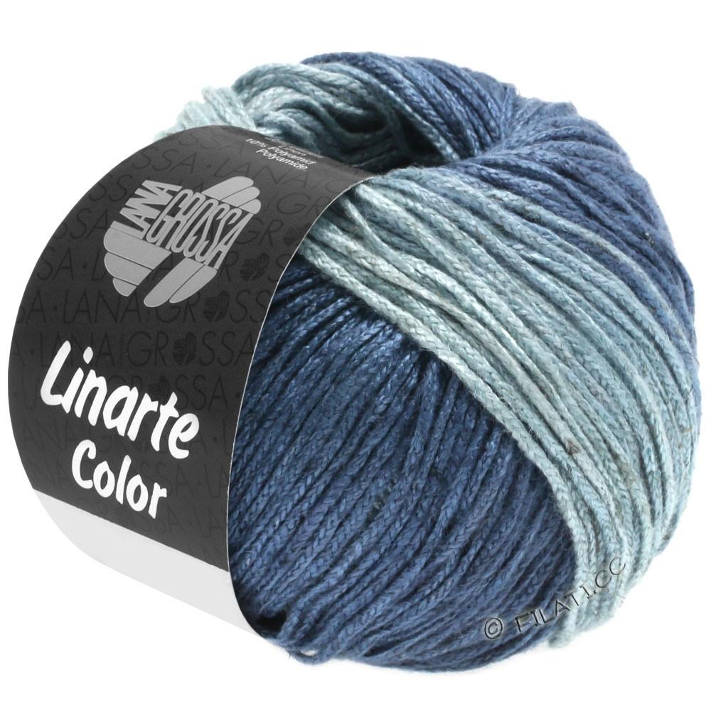 Lana Grossa LINARTE Color | 206-Taubenblau/Blaugrau/Jeans