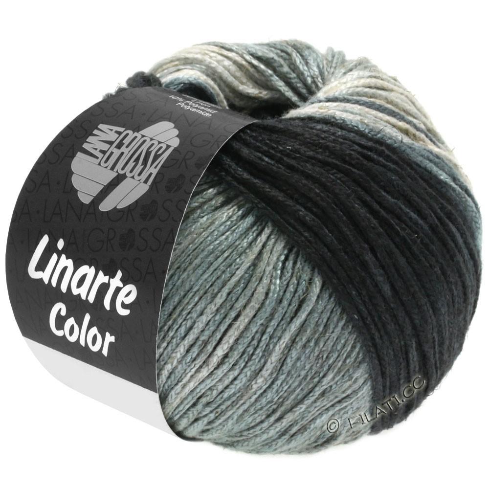Lana Grossa LINARTE Color | 207-Grège/Steingrau/Schiefergrau/Anthrazit