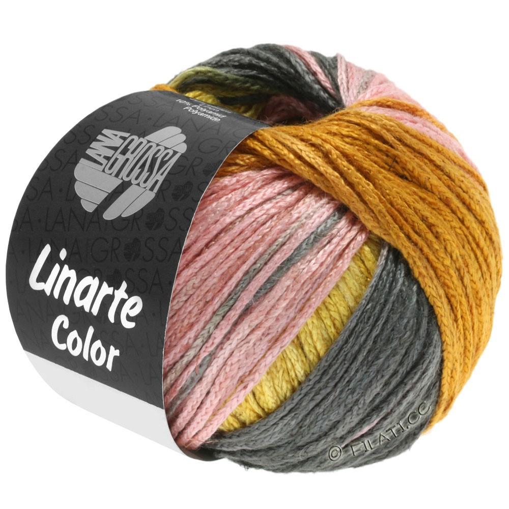 Lana Grossa LINARTE Color | 210-Ginstergelb/Gold/Pfirsich/Khaki