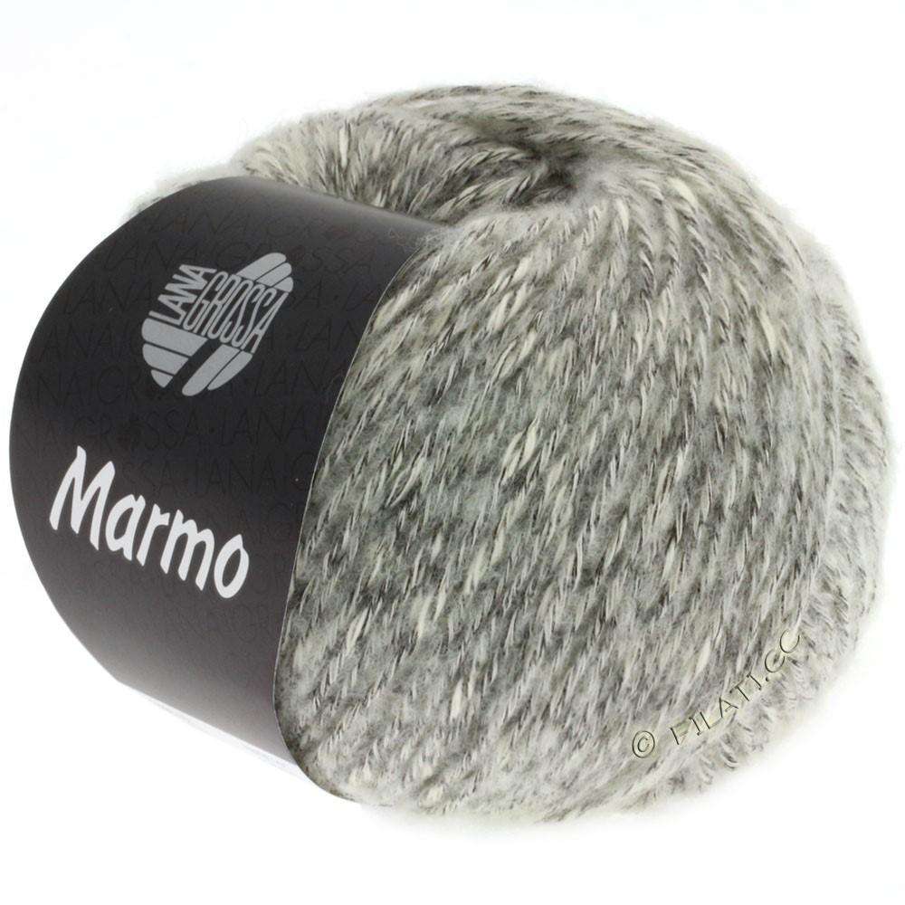 Lana Grossa MARMO | 001-Rohweiß/Anthrazit