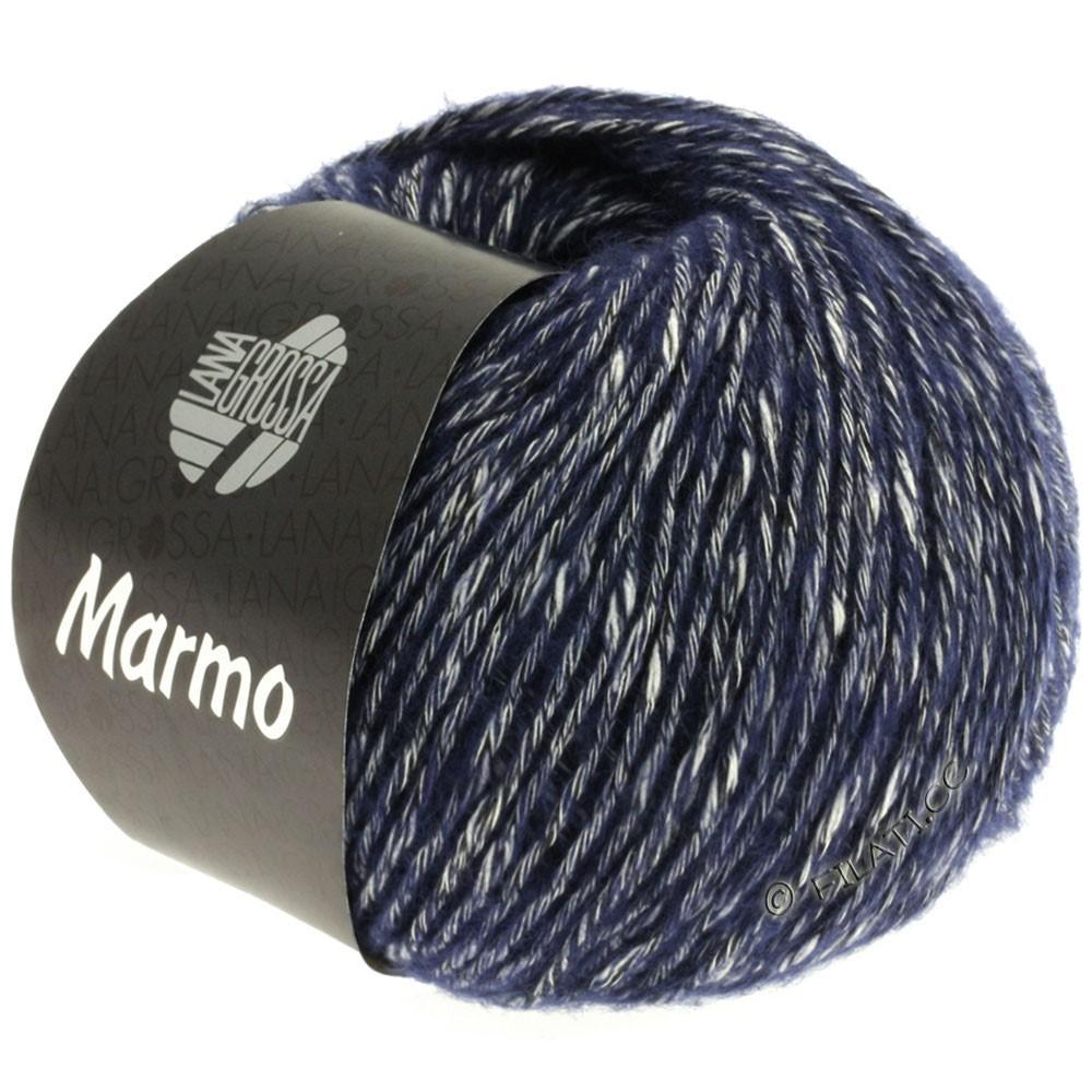 Lana Grossa MARMO | 011-Marine/Rohweiß/Anthrazit