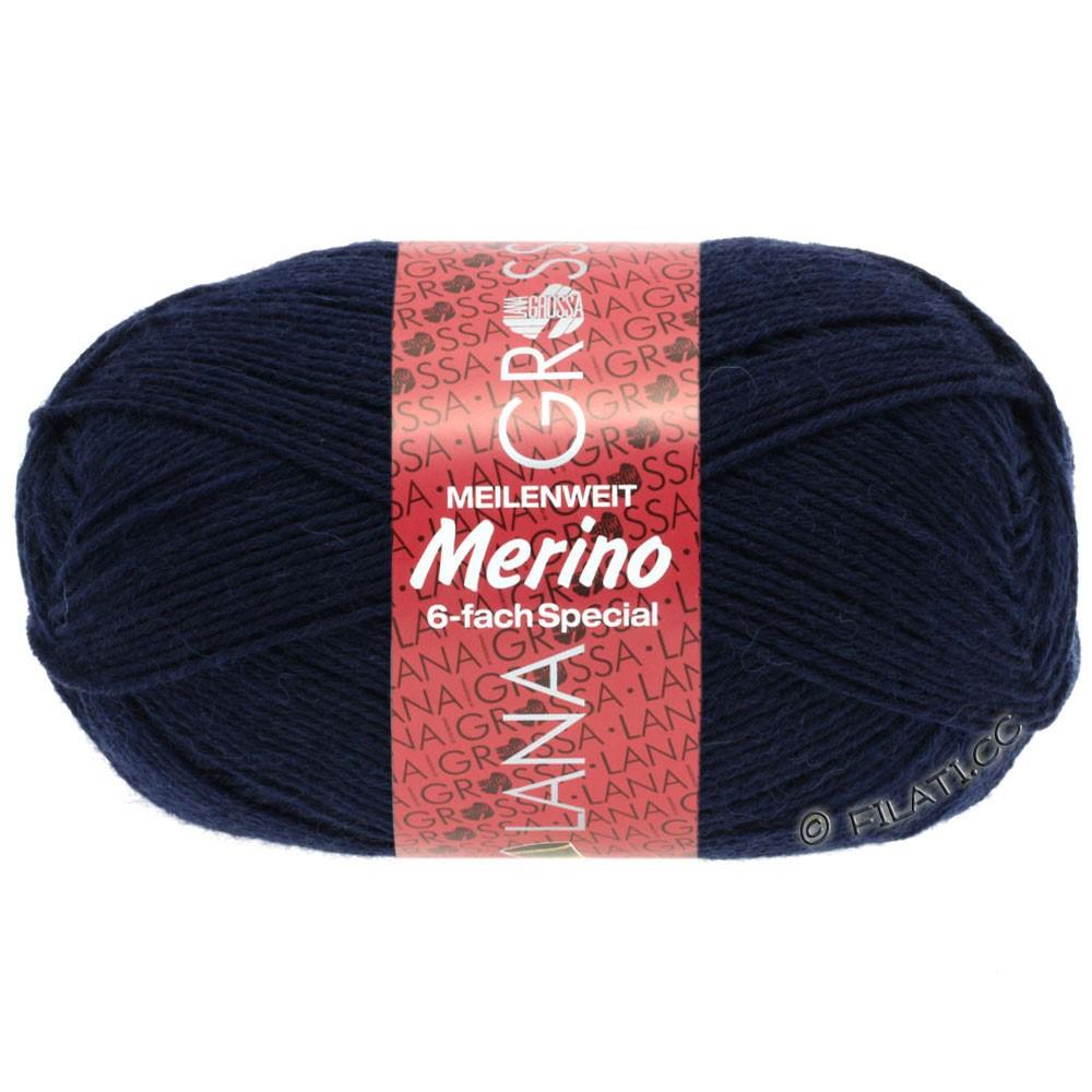 Lana Grossa MEILENWEIT 6-FACH 150g Merino | 0002-Marine