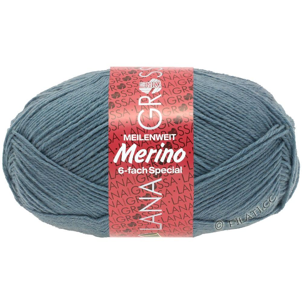 Lana Grossa MEILENWEIT 6-FACH 150g Merino | 0003-Taubenblau