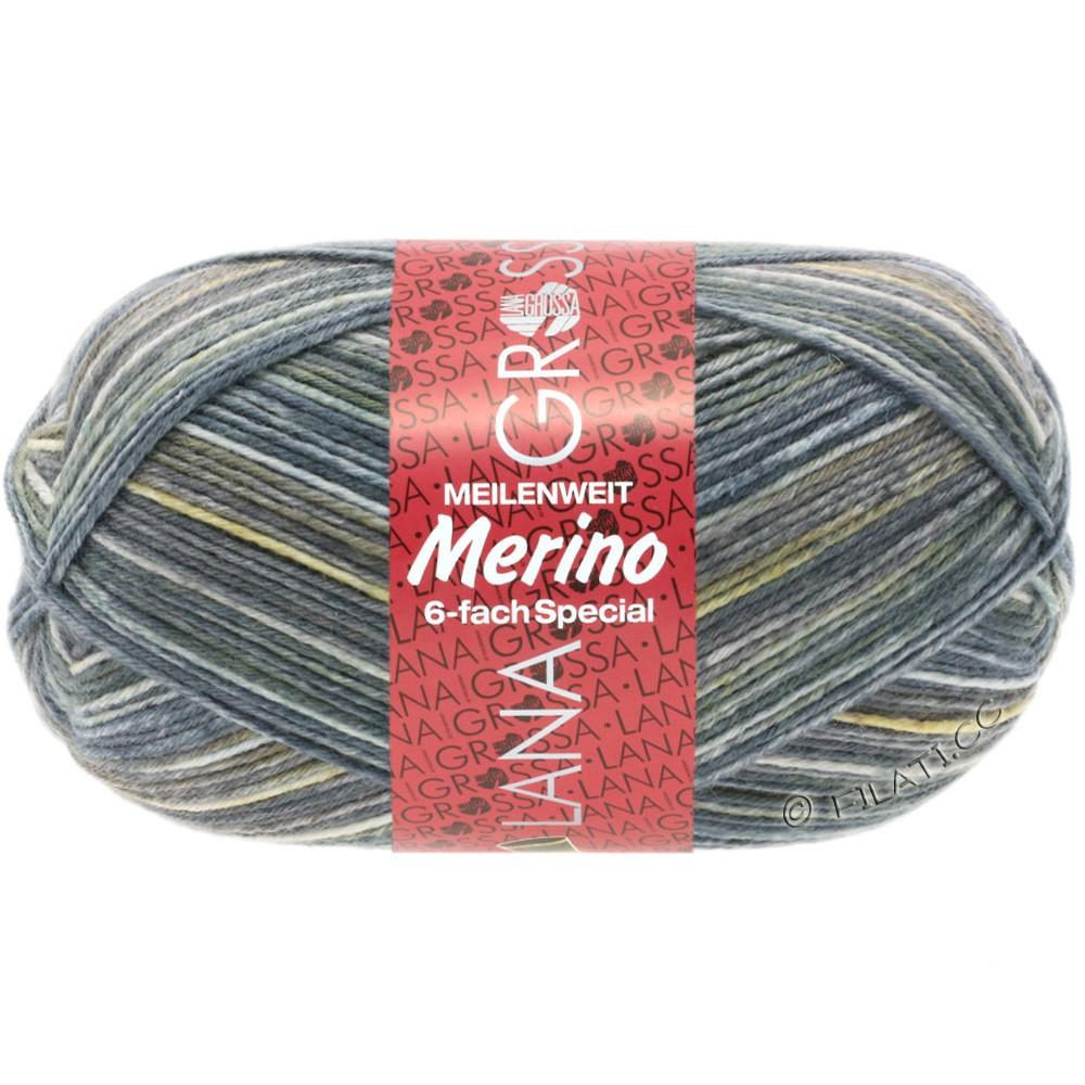 Lana Grossa MEILENWEIT 6-FACH 150g Merino Print | 0505-