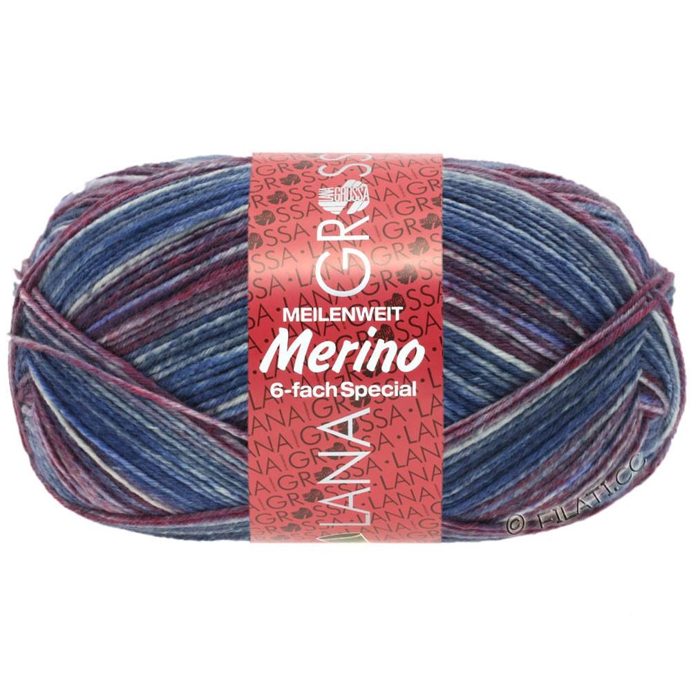 Lana Grossa MEILENWEIT 6-FACH 150g Merino Print | 0508-