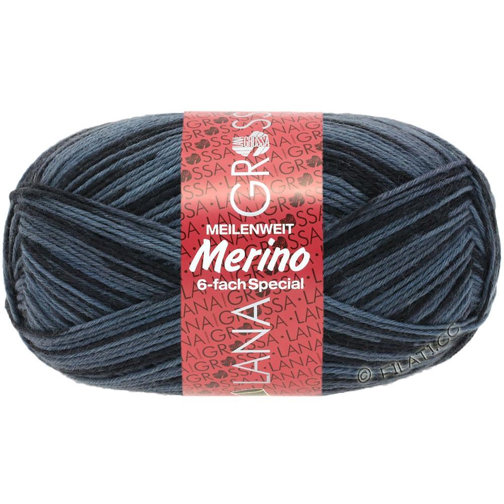 Lana Grossa MEILENWEIT 6-FACH 150g Merino Print | 0509-