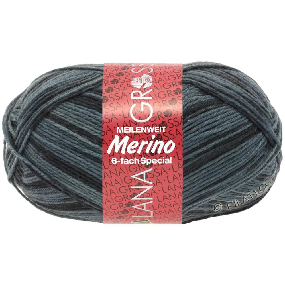Lana Grossa MEILENWEIT 6-FACH 150g Merino Print | 0510-
