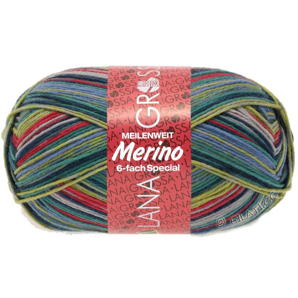 Lana Grossa MEILENWEIT 6-FACH 150g Merino Print | 0523-