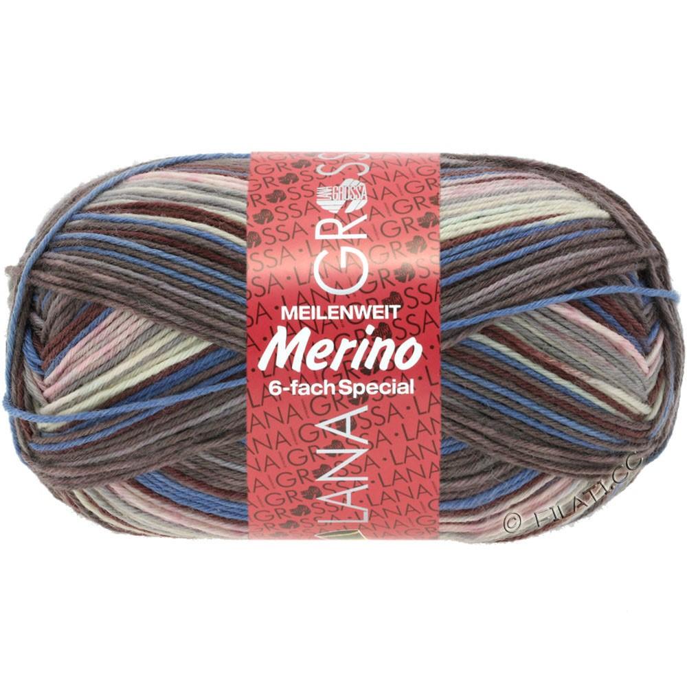 Lana Grossa MEILENWEIT 6-FACH 150g Merino Print | 0525-