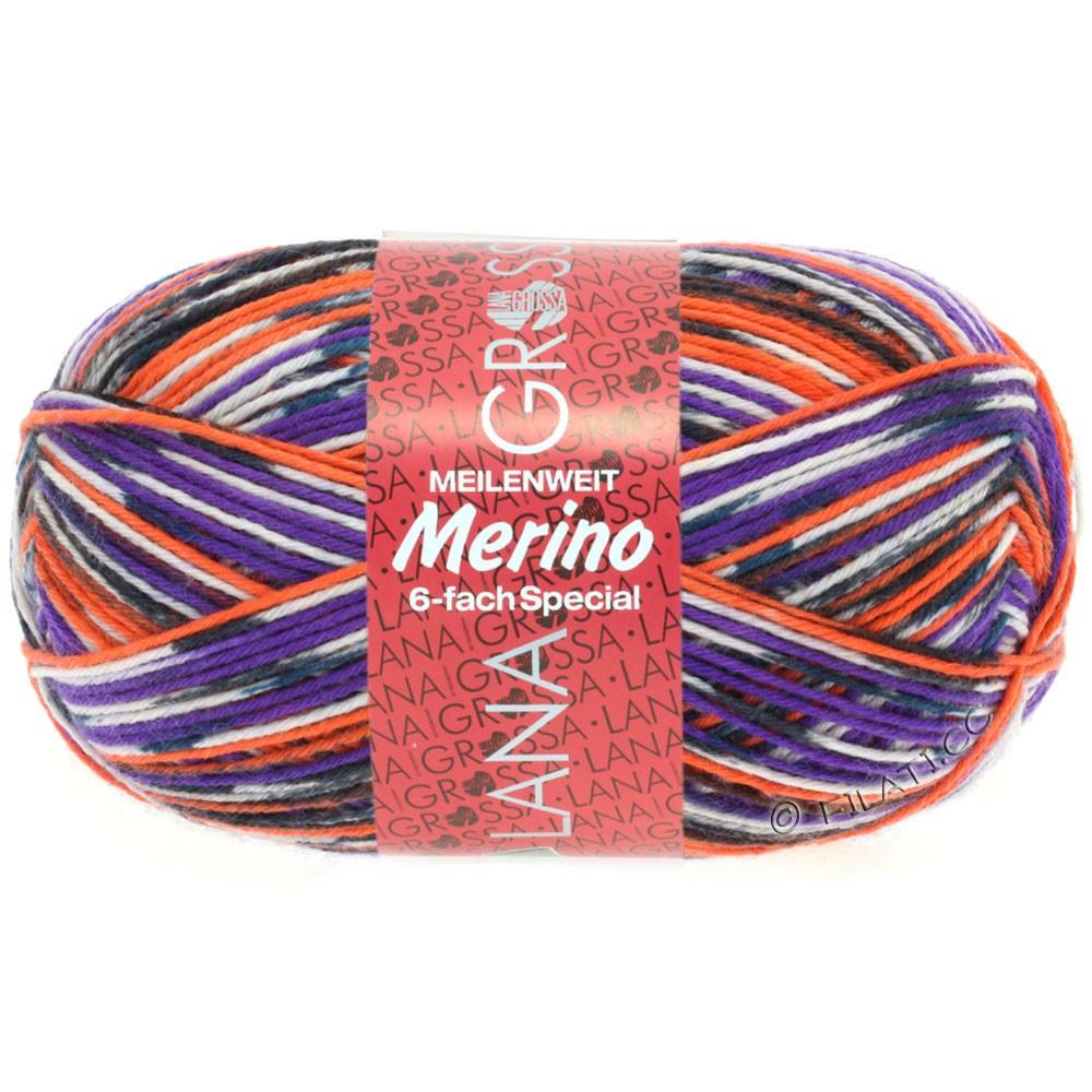 Lana Grossa MEILENWEIT 6-FACH 150g Merino Print | 9106-