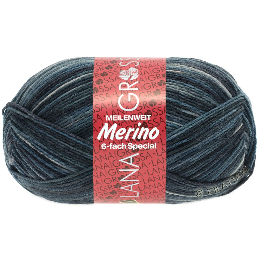 Lana Grossa MEILENWEIT 6-FACH 150g Merino | 9319-