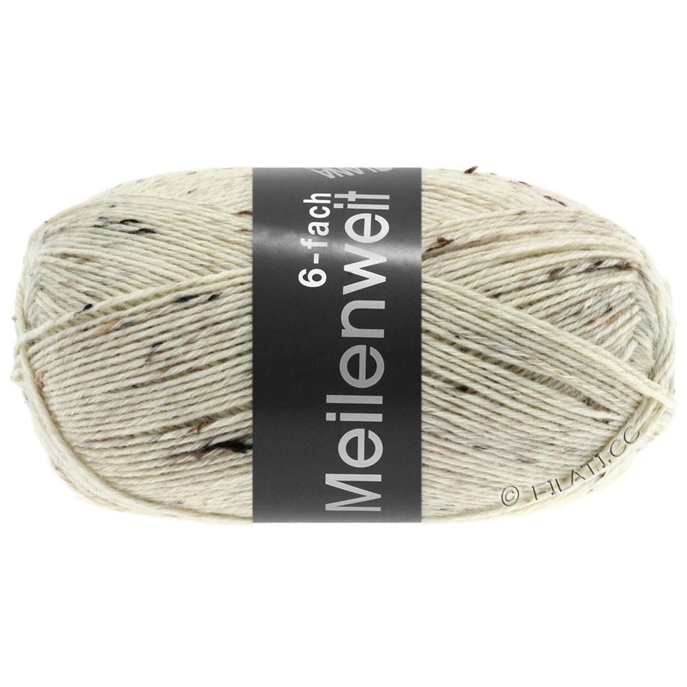 Lana Grossa MEILENWEIT 6-FACH 150g Print/Tweed | 8817-Natur meliert