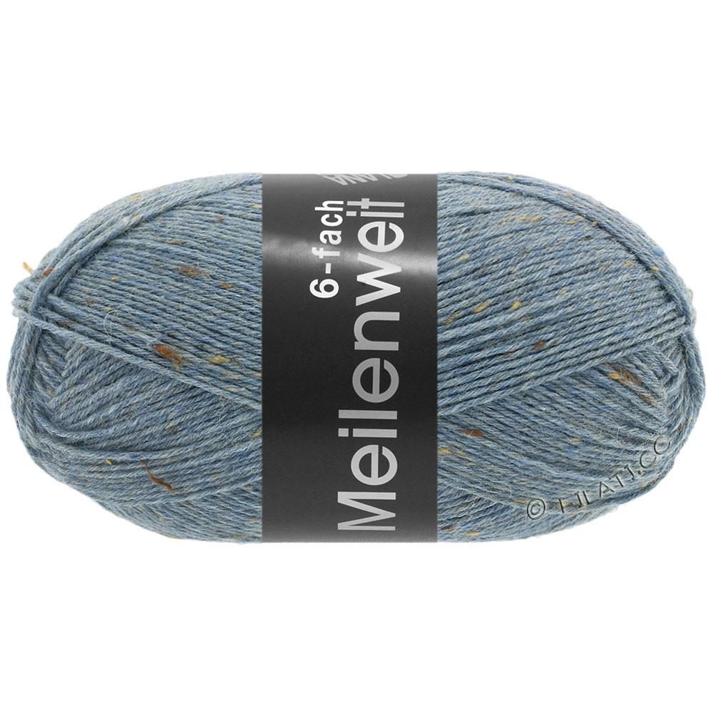 Lana Grossa MEILENWEIT 6-FACH 150g Print/Tweed | 9227-Jeansblau meliert