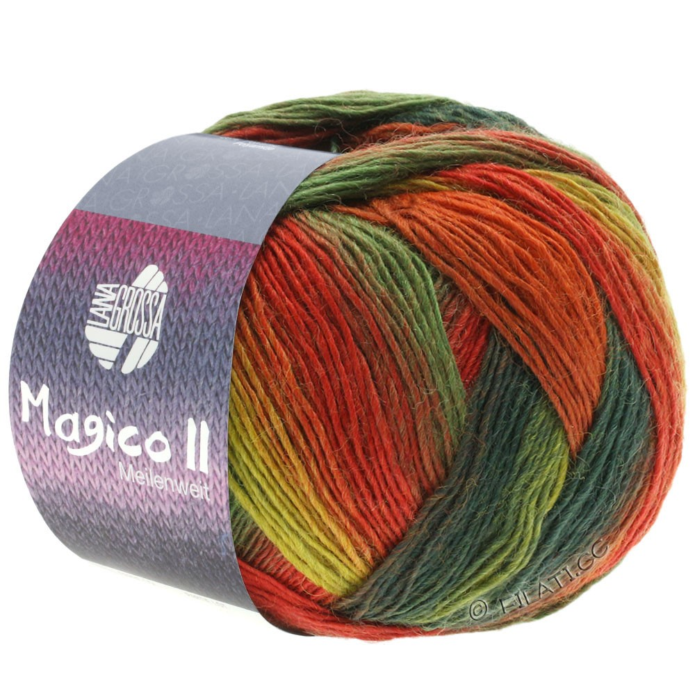 Lana Grossa MEILENWEIT 100g Magico II   3564-