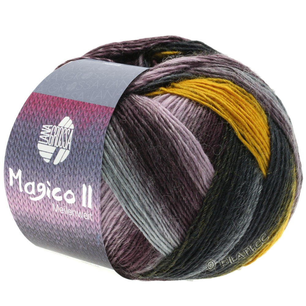 Lana Grossa MEILENWEIT 100g Magico II   3566-