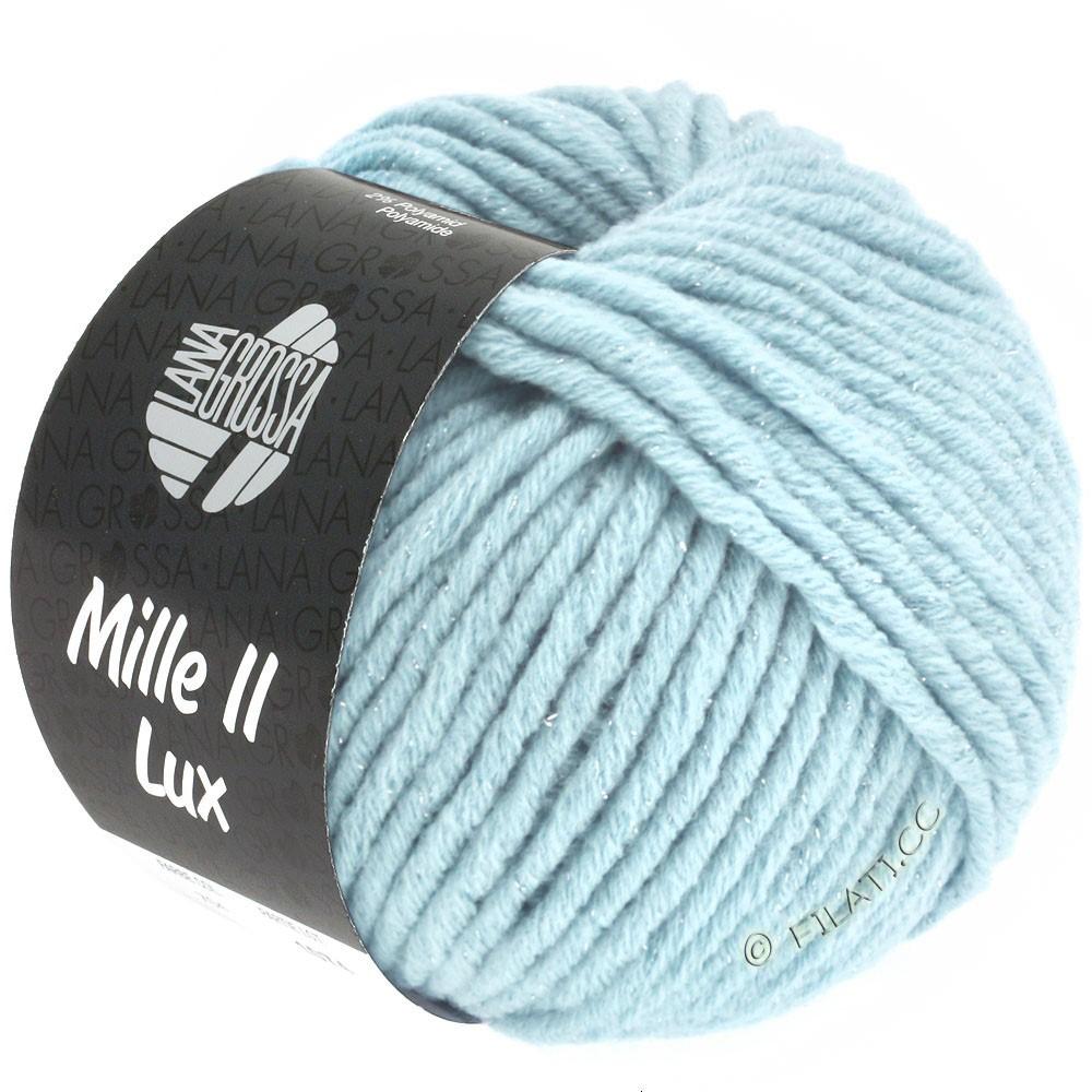 Lana Grossa MILLE II Lux | 711-Hellblau