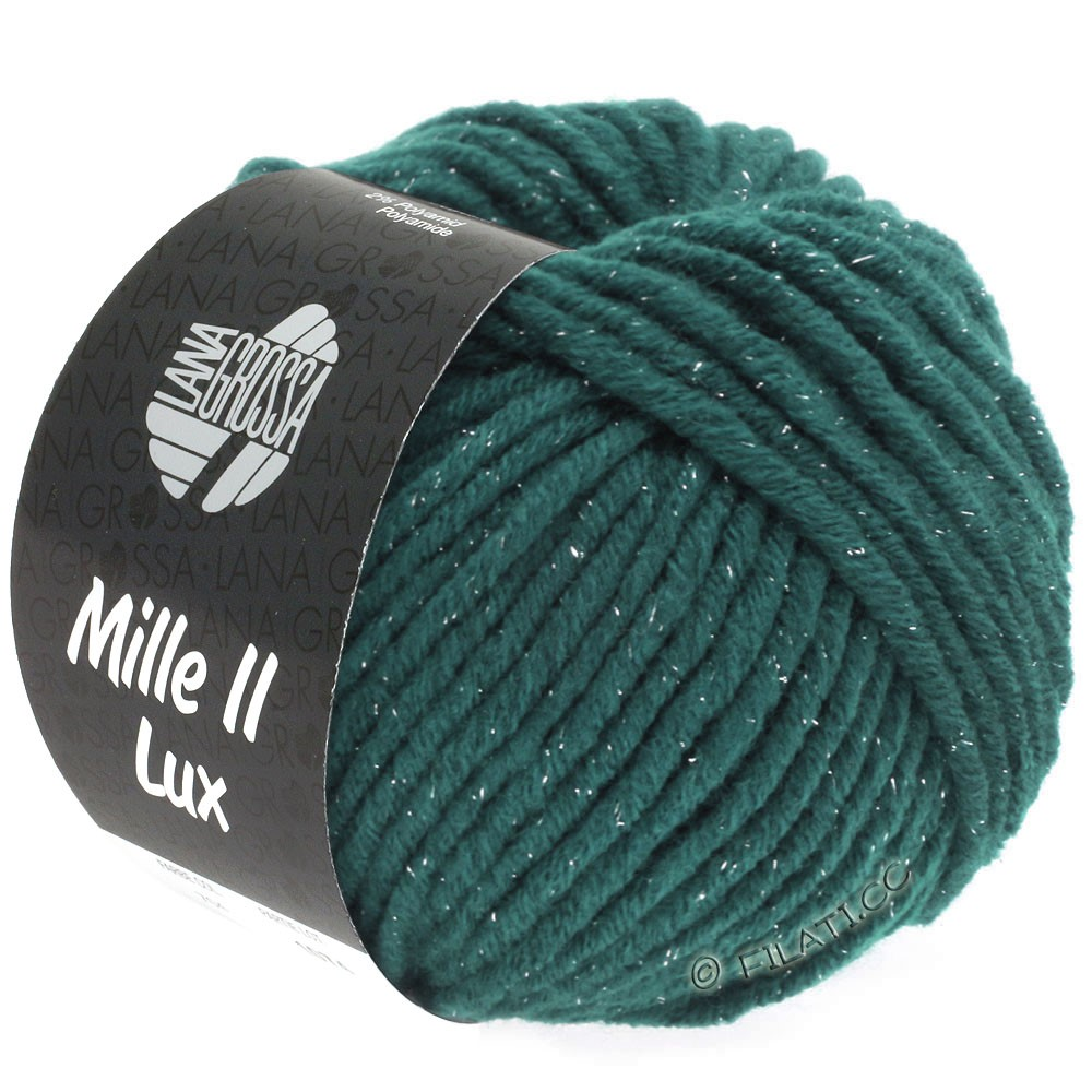 Lana Grossa MILLE II Lux | 714-Dunkles Petrol