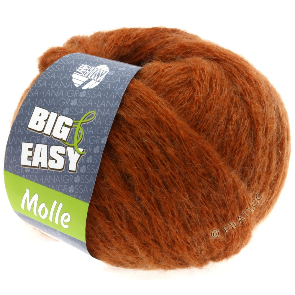 Lana Grossa MOLLE 100g (Big & Easy) | 01-Kupfer