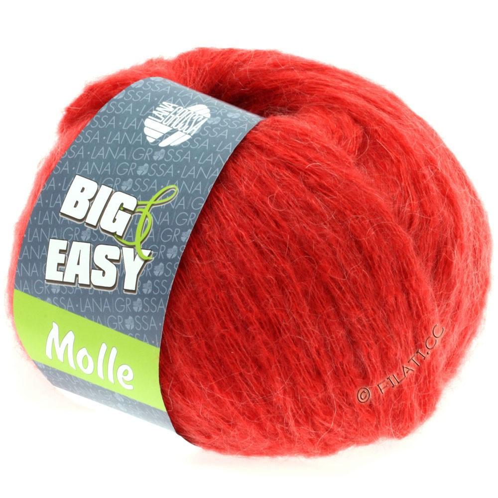 Lana Grossa MOLLE 100g (Big & Easy) | 02-Leuchtendrot