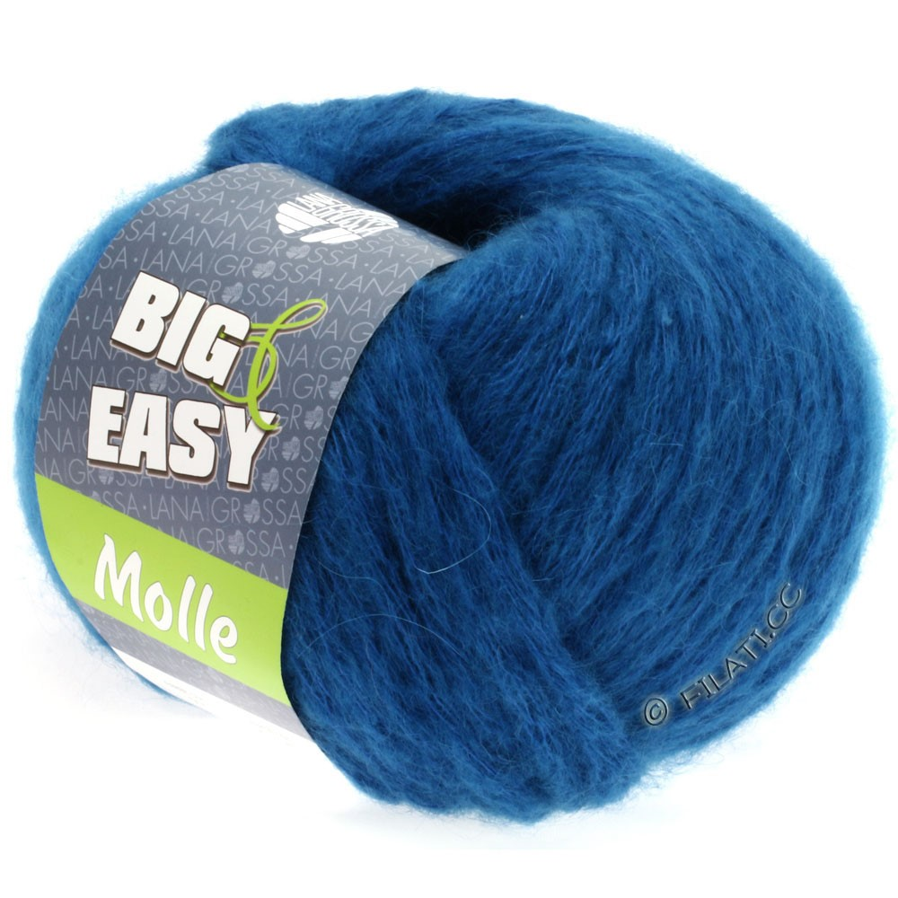 Lana Grossa MOLLE 100g (Big & Easy) | 04-Blau