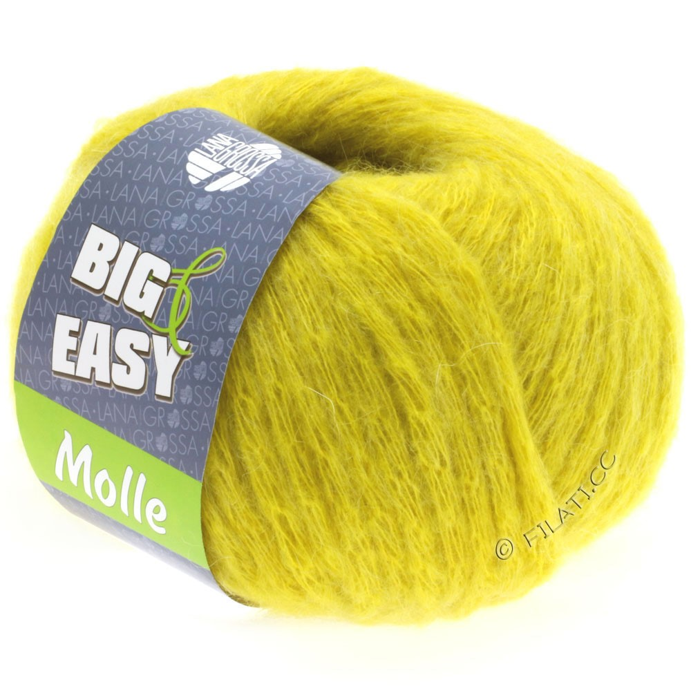 Lana Grossa MOLLE 100g (Big & Easy) | 07-Gelb