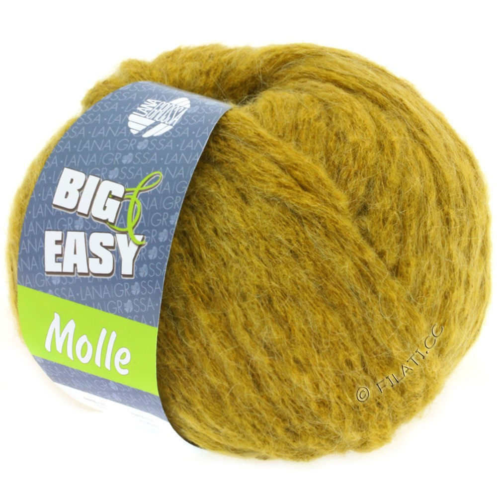 Lana Grossa MOLLE 100g (Big & Easy) | 13-Senf