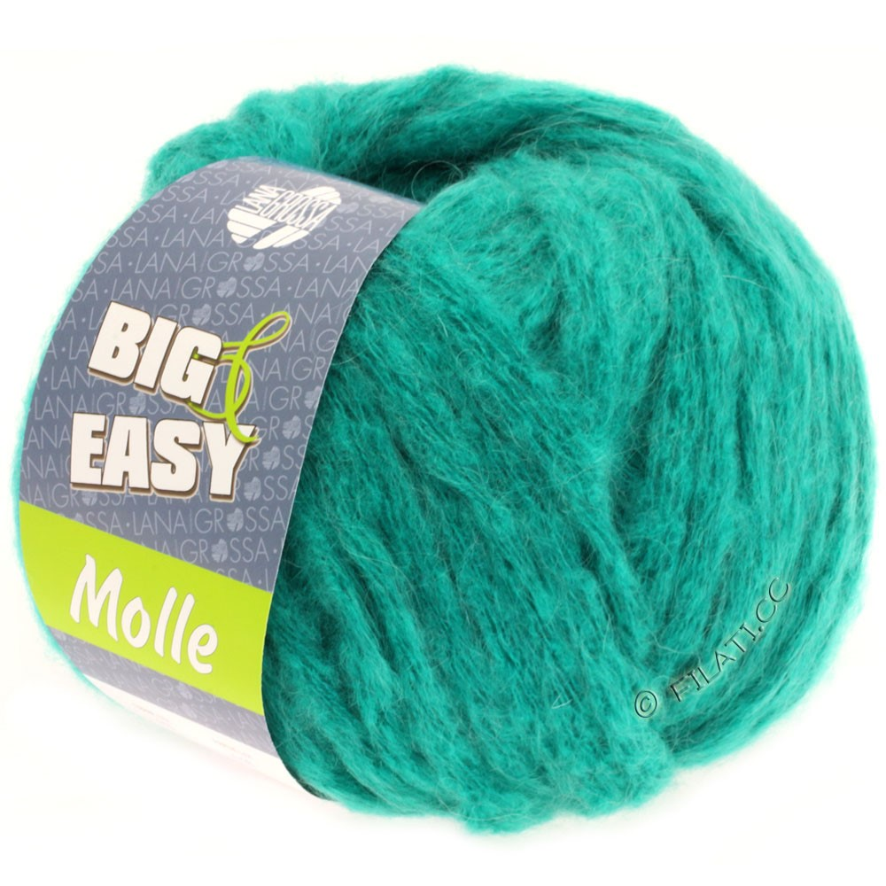 Lana Grossa MOLLE 100g (Big & Easy) | 15-Türkis