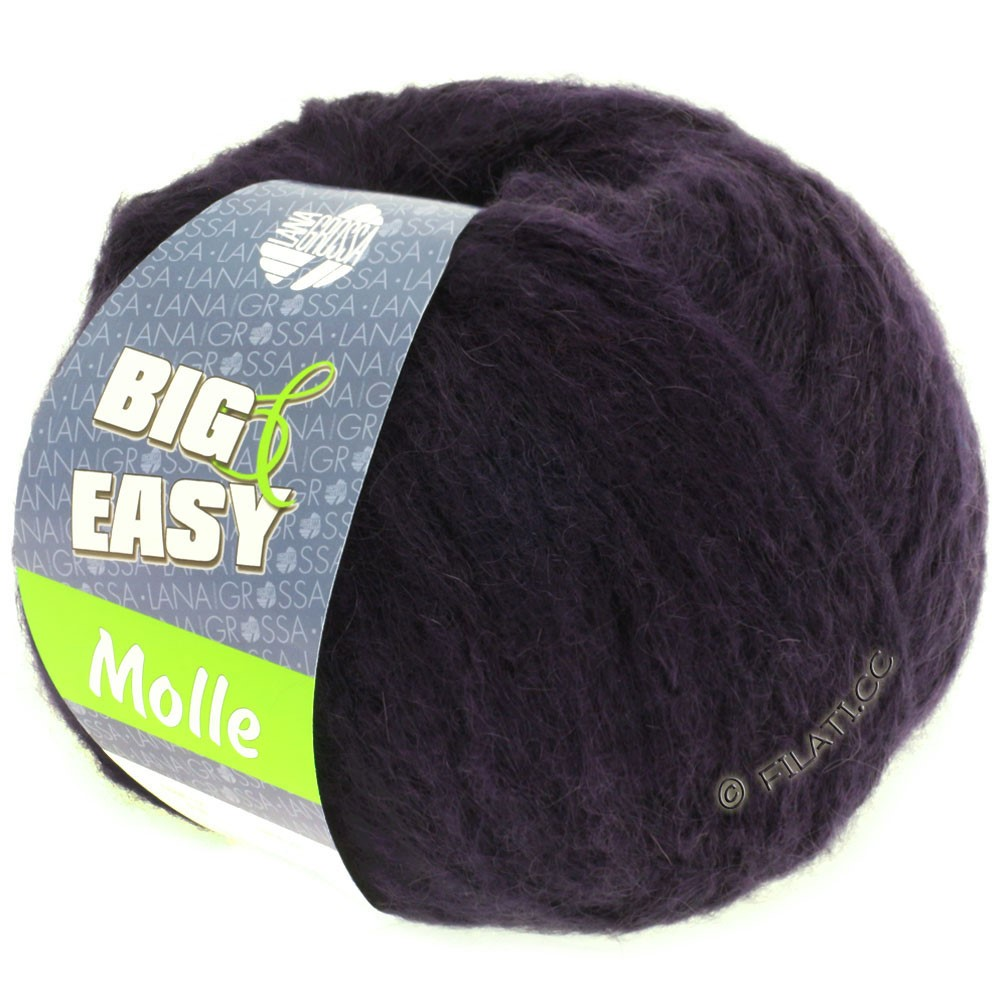 Lana Grossa MOLLE 100g (Big & Easy) | 16-Nachtblau
