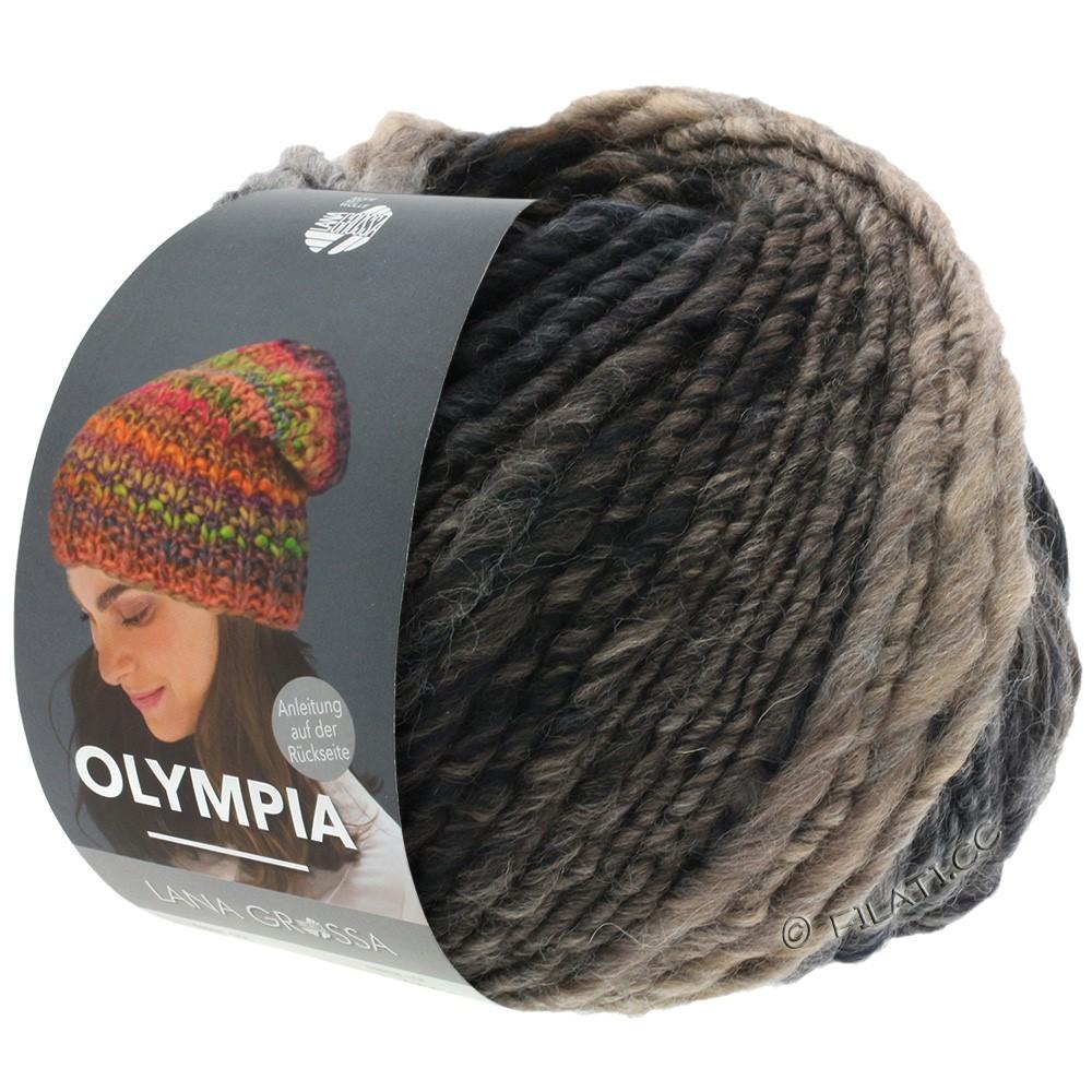 Lana Grossa OLYMPIA Classic | 074-Graubraun/Mokka/Schwarz/Schwarzbraun