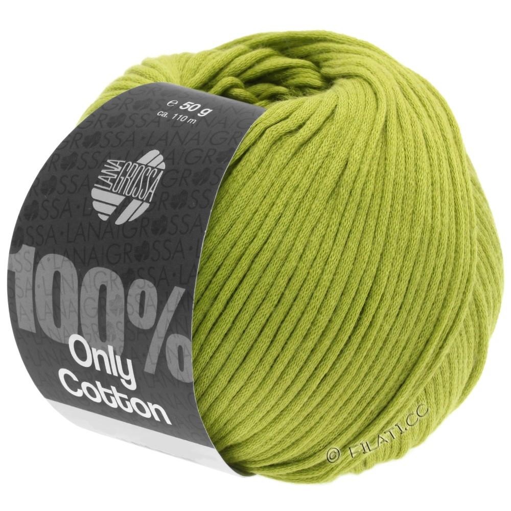 Lana Grossa ONLY COTTON | 10-Gelbgrün