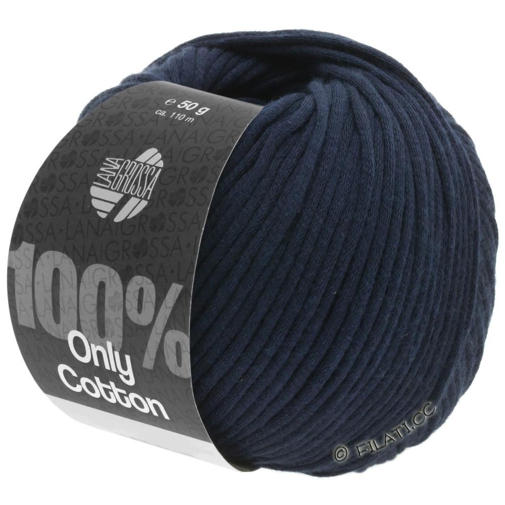 Lana Grossa ONLY COTTON | 11-Nachtblau
