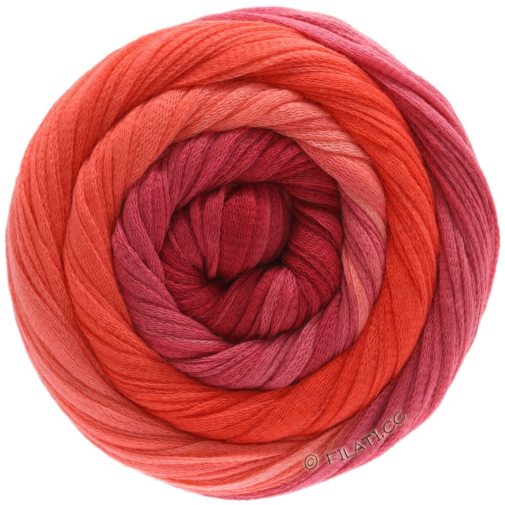 Lana Grossa PRIMAVERA | 206-Lachs/Koralle/Rot