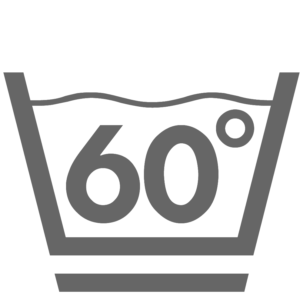 Waschen 60°C (schonend)