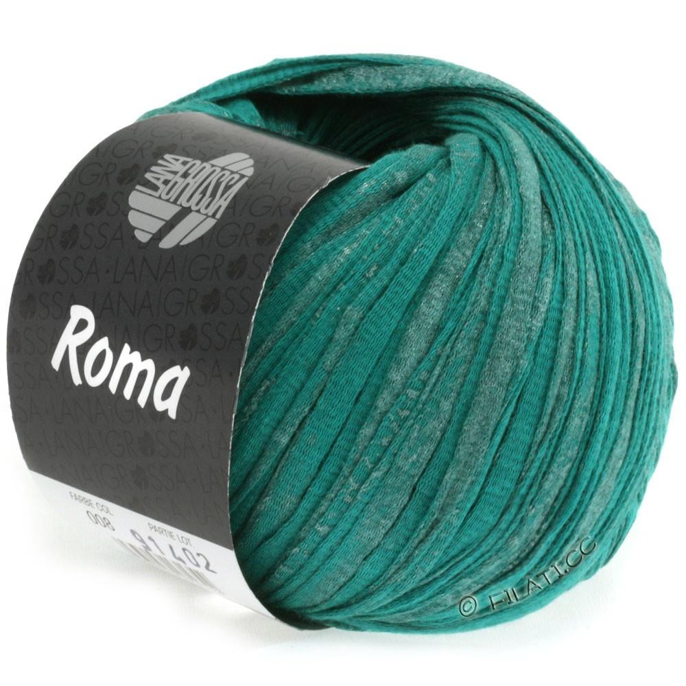 Lana Grossa ROMA | 008-Opalgrün/Silber