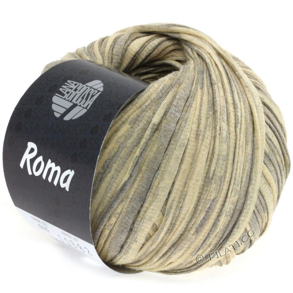 Lana Grossa ROMA | 010-Beige/Silber