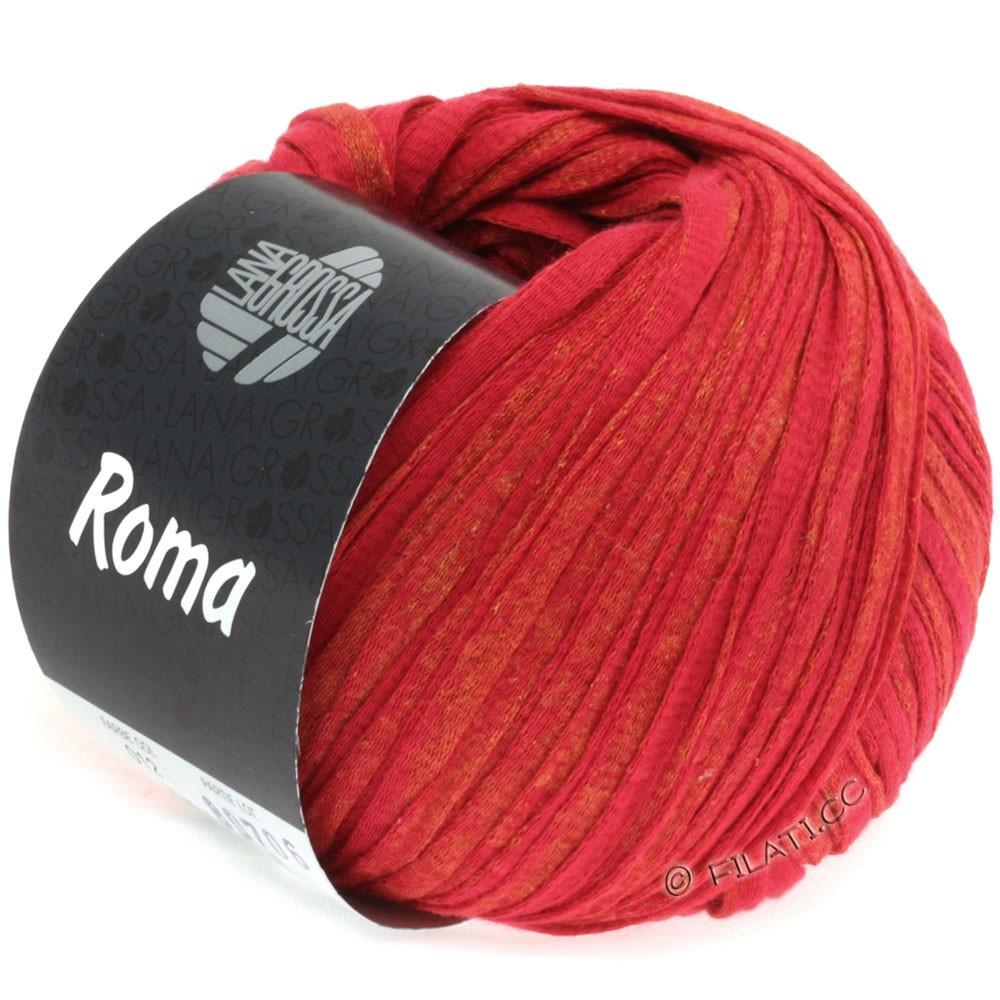 Lana Grossa ROMA | 012-Rot/Gold