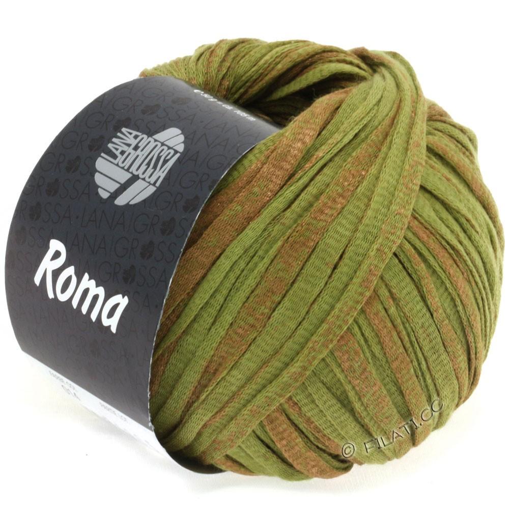 Lana Grossa ROMA | 014-Oliv/Kupfer