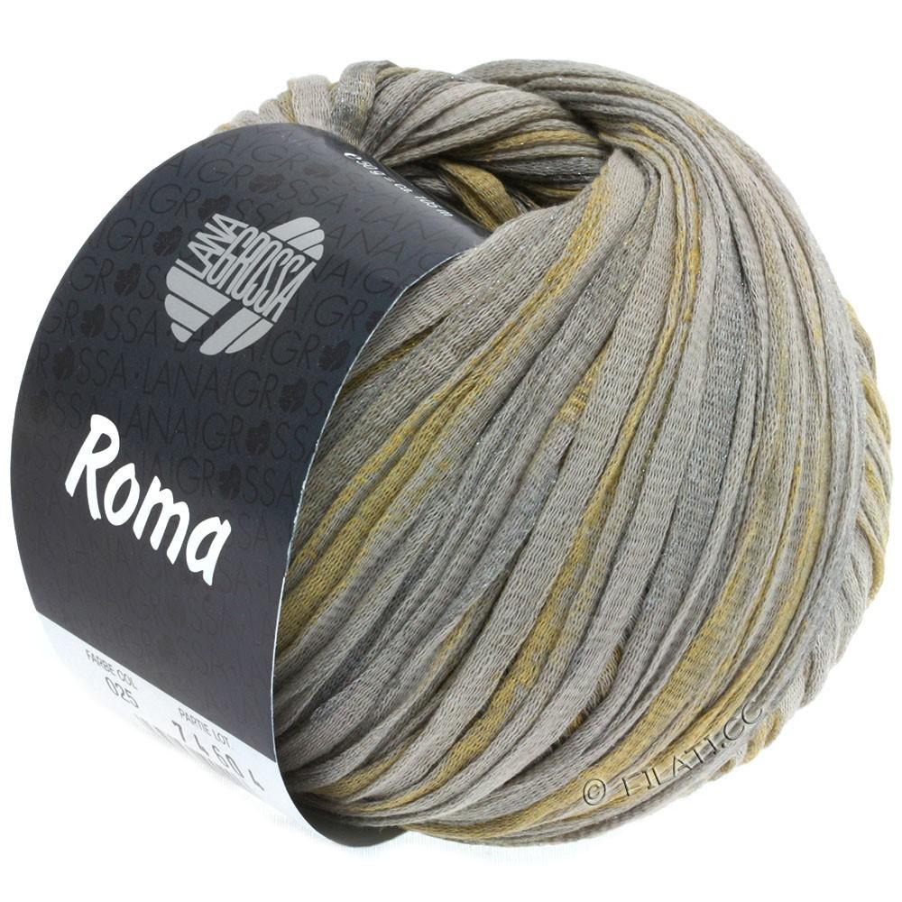 Lana Grossa ROMA | 025-Beige/Silber/Gold