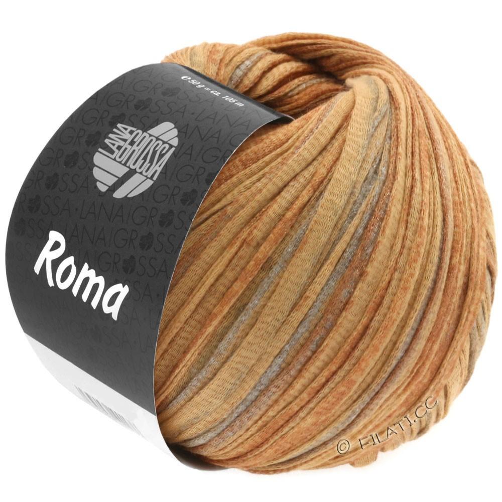 Lana Grossa ROMA | 029-Goldbraun/Kupfer/Silber