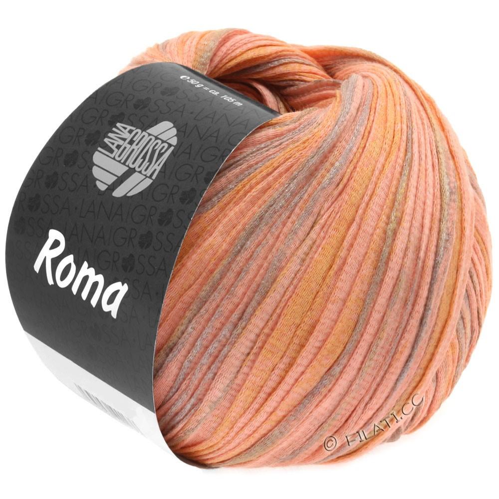 Lana Grossa ROMA | 030-Lachs/Gold/Silber
