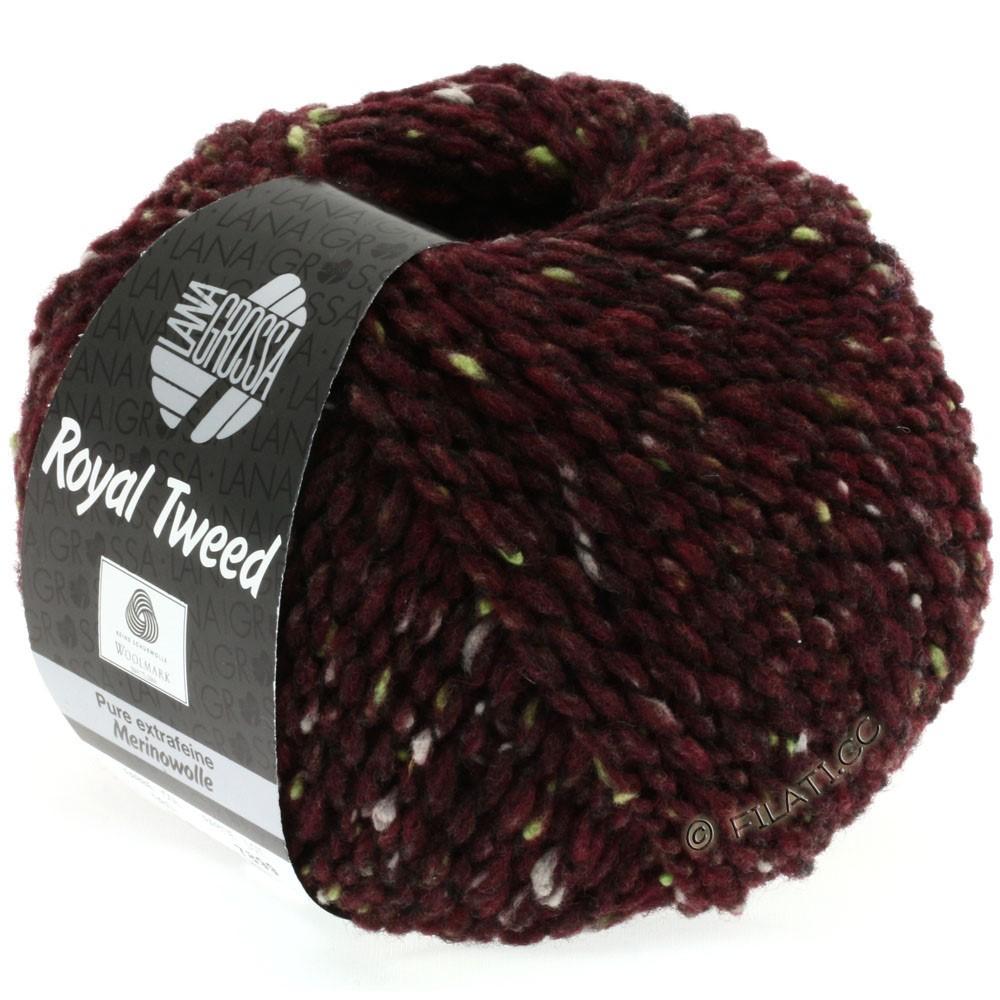 Lana Grossa ROYAL TWEED | 71-Burgund meliert