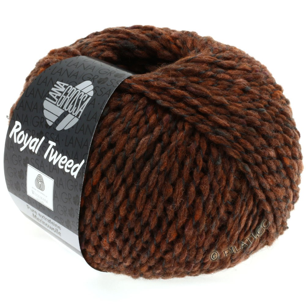 Lana Grossa ROYAL TWEED | 78-Zimt meliert