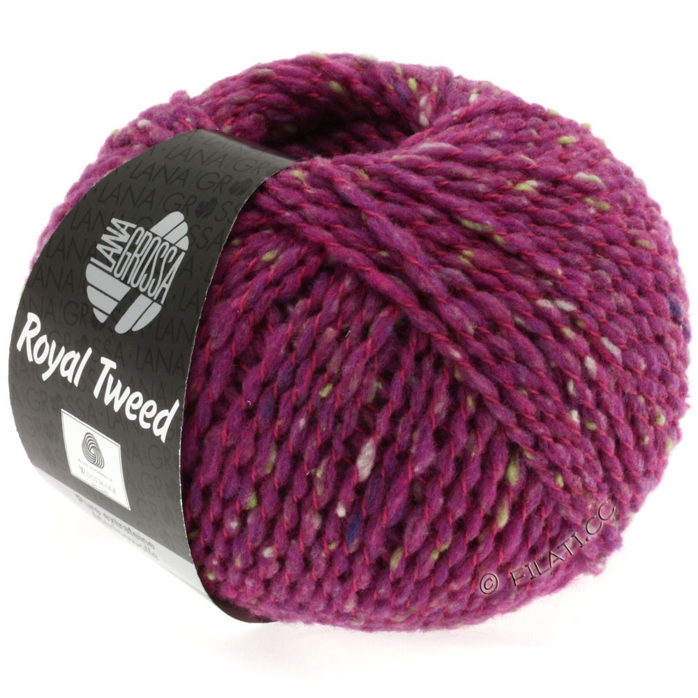Lana Grossa ROYAL TWEED | 79-Zyklam meliert