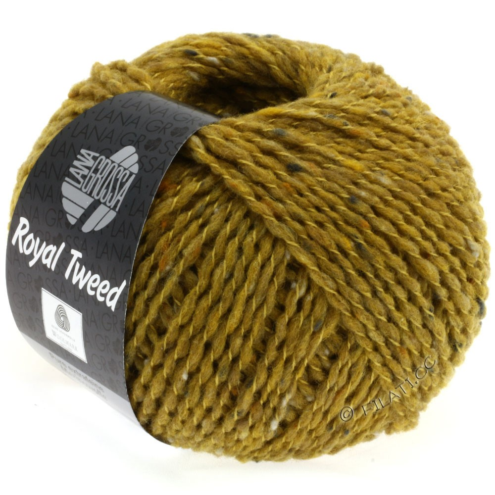 Lana Grossa ROYAL TWEED | 80-Senf meliert