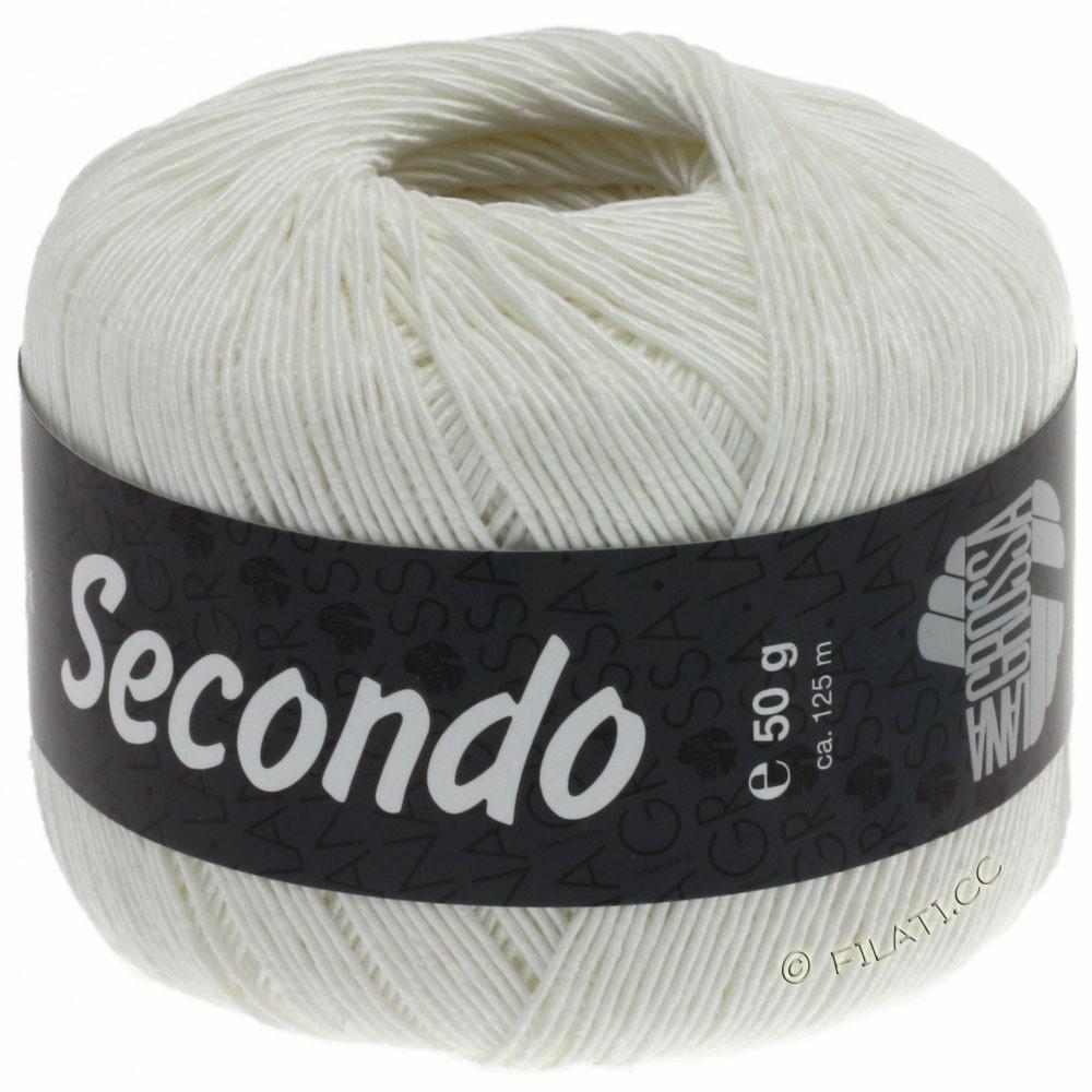 Lana Grossa SECONDO | 15-Weiß