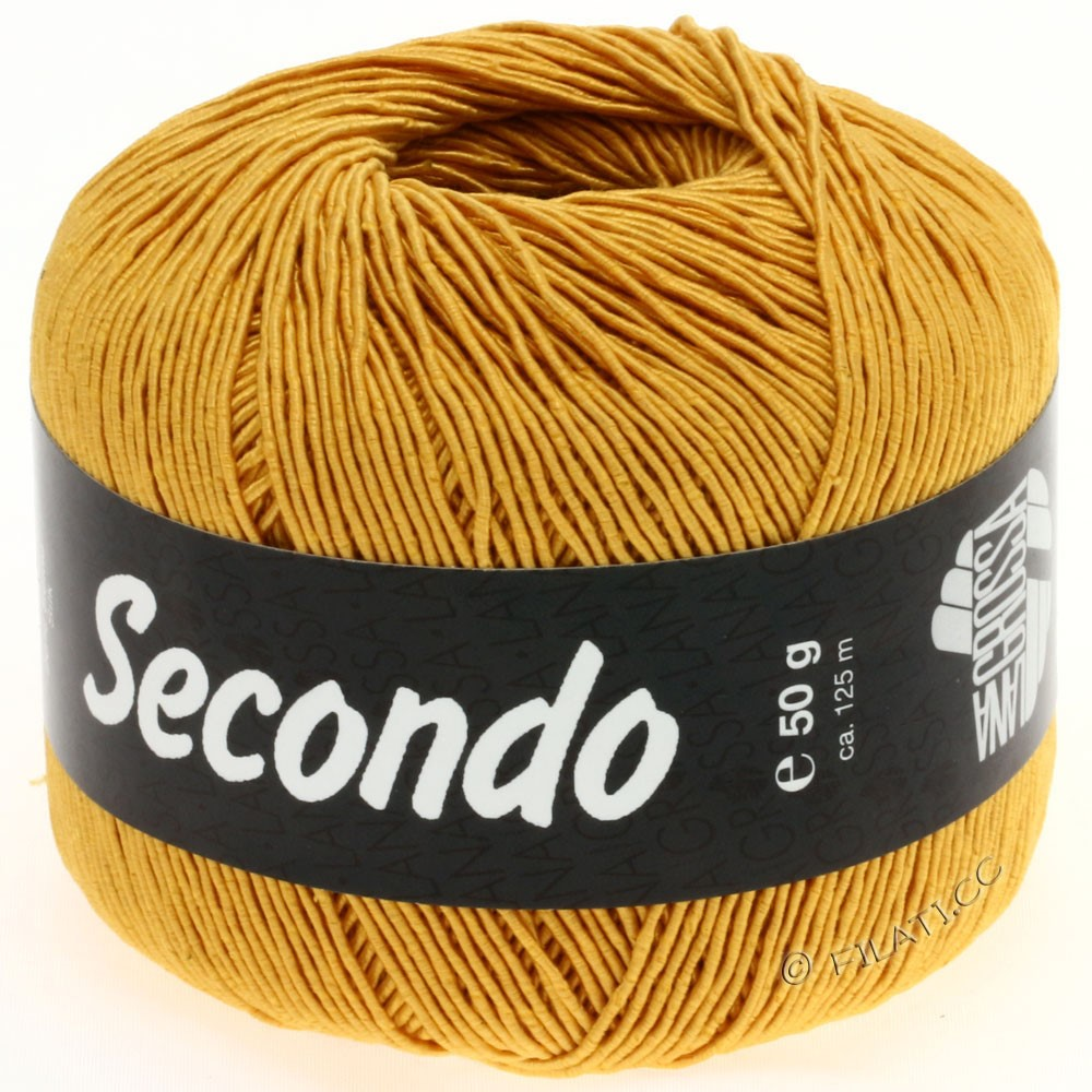 Lana Grossa SECONDO | 58-Goldgelb