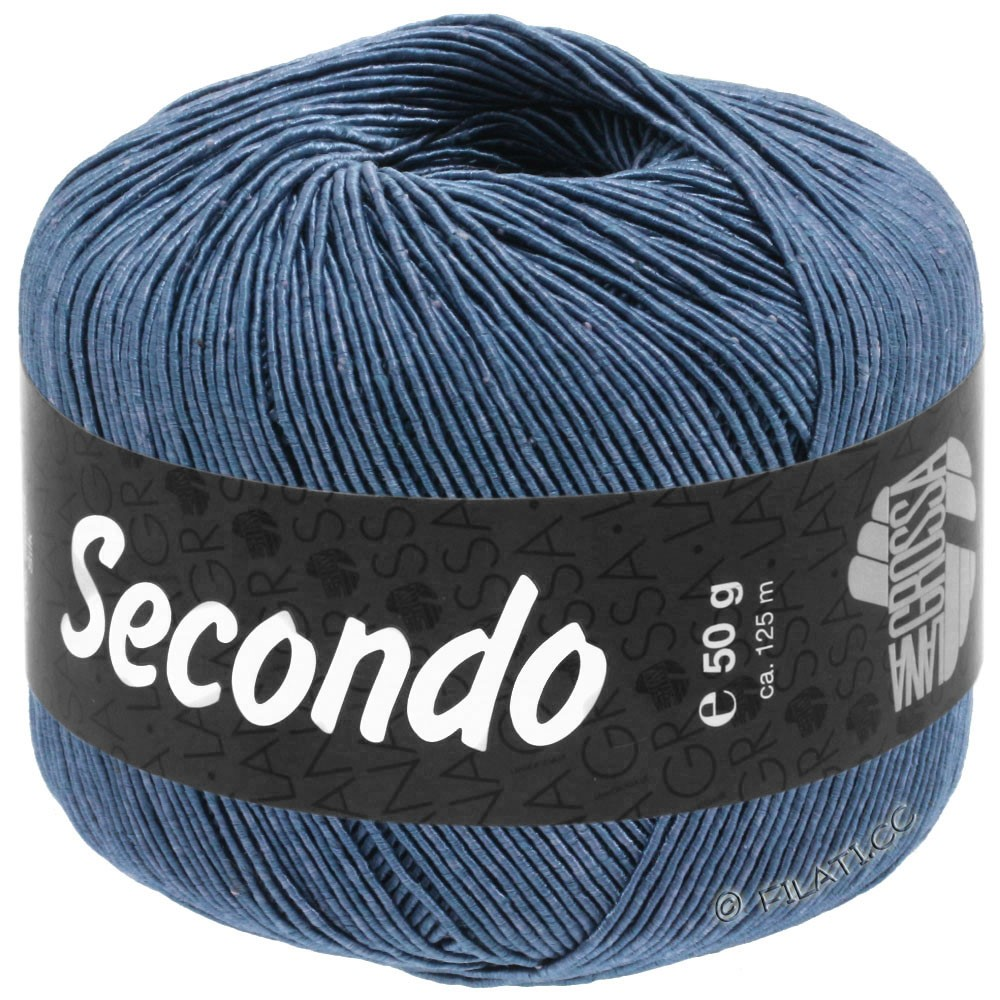 Lana Grossa SECONDO | 84-Stahlblau