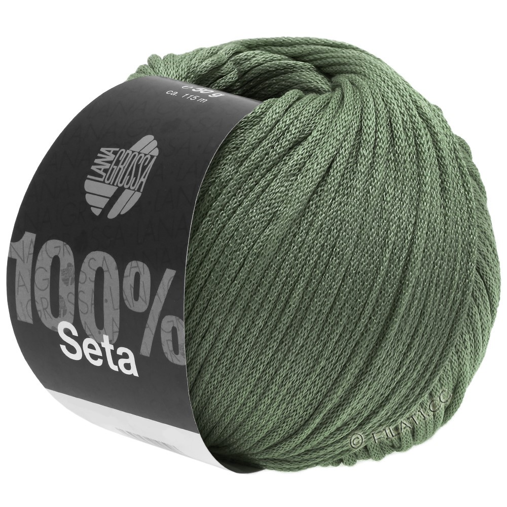 Lana Grossa SETA   13-Graugrün