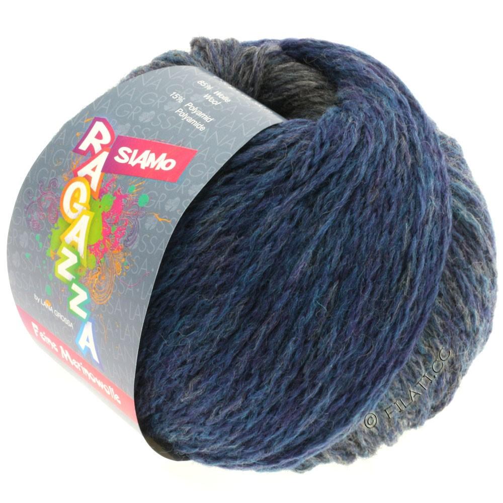 Lana Grossa SIAMO (Ragazza) | 06-Blau/Grau meliert